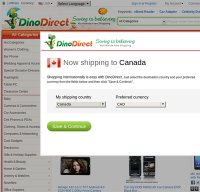 dinodirect.com screenshot