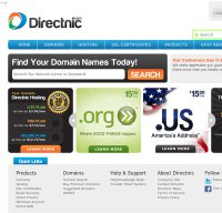 directnic.com screenshot