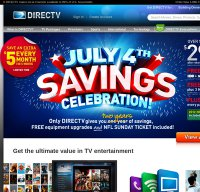 directv.com screenshot