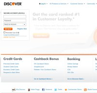 discover.com screenshot