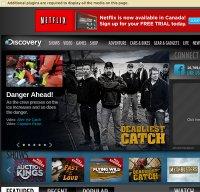 discovery.com screenshot