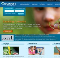 discoveryeducation.com screenshot