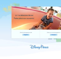 disney.com screenshot