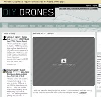 diydrones.com screenshot