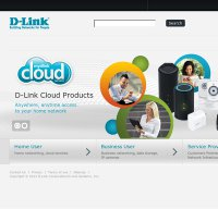 dlink.com screenshot