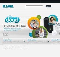 dlink.com screenshot