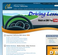 Is ca department of motor vehicles down right for Ca gov motor vehicles