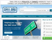 dmv.org screenshot