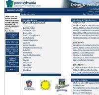 dmv.state.pa.us screenshot