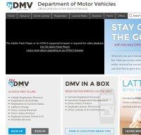 dmvnv.com screenshot