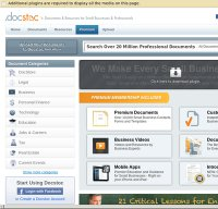 docstoc.com screenshot
