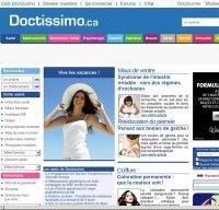 doctissimo.fr screenshot