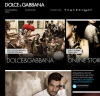 dolcegabbana.com screenshot