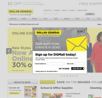 dollargeneral.com screenshot