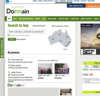 domain.com.au screenshot