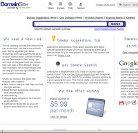 domainsite.com screenshot