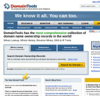 domaintools.com screenshot