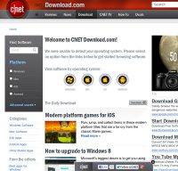 download.cnet.com screenshot
