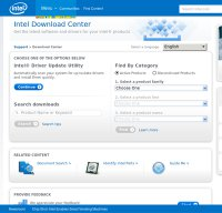 downloadcenter.intel.com screenshot