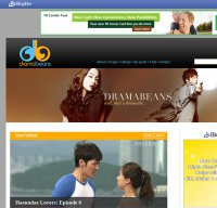 dramabeans.com screenshot