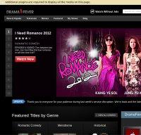dramafever.com screenshot