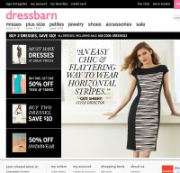 dressbarn.com screenshot