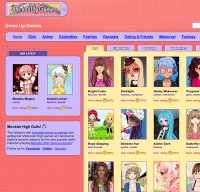 dressupgames.com screenshot