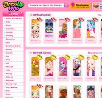 dressupwho.com screenshot