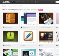 dribbble.com screenshot