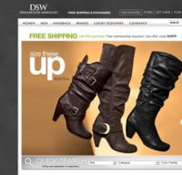 dsw.com screenshot