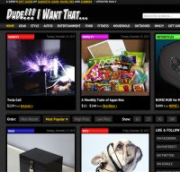 dudeiwantthat.com screenshot