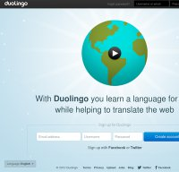 duolingo.com screenshot