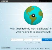duolingo.com screenshot