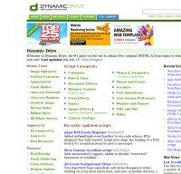 dynamicdrive.com screenshot