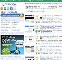 dzone.com screenshot