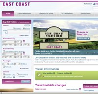 eastcoast.co.uk screenshot