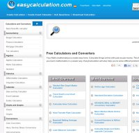 easycalculation.com screenshot