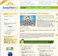 easyhits4u.com screenshot