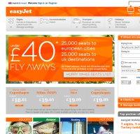 easyjet.com screenshot