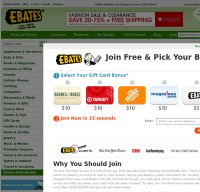 ebates.com screenshot