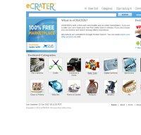 ecrater.com screenshot