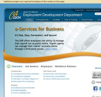 edd.ca.gov screenshot