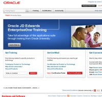 education.oracle.com screenshot