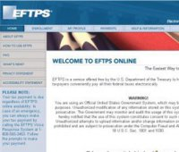 eftps.gov screenshot