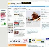 ekantipur.com screenshot