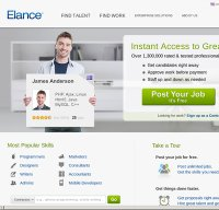 elance.com screenshot