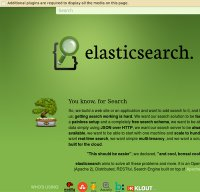 elasticsearch.org screenshot