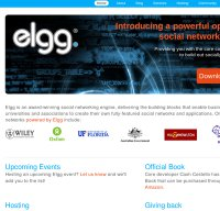 elgg.org screenshot