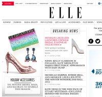 elle.com screenshot