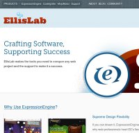 ellislab.com screenshot